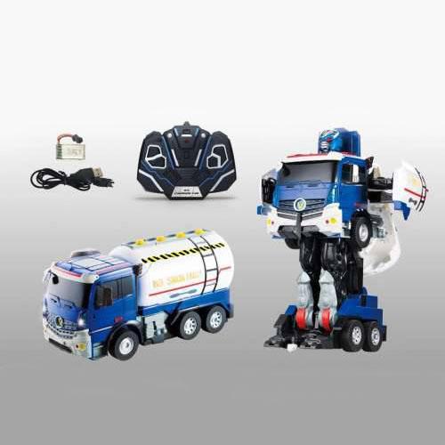 Робот на р/у, трансформируется в грузовик, со светом и звуком