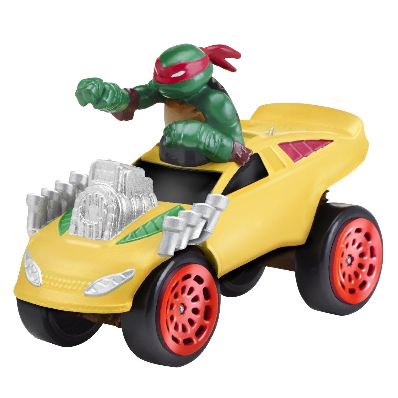 Купить Машинка Черепашки-ниндзя - Раф на Боевом фургоне, 7 см, Playmates