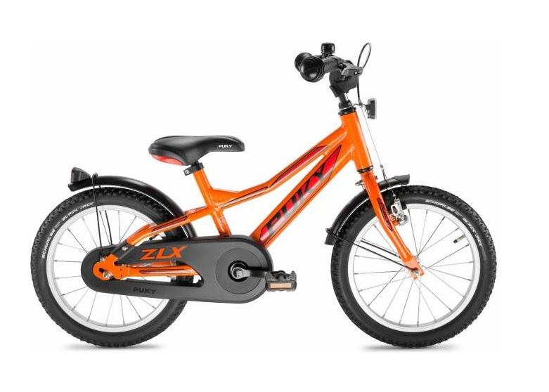 Купить Двухколесный велосипед ZLX 18 Alu, цвет – Orange/Оранжевый, Puky