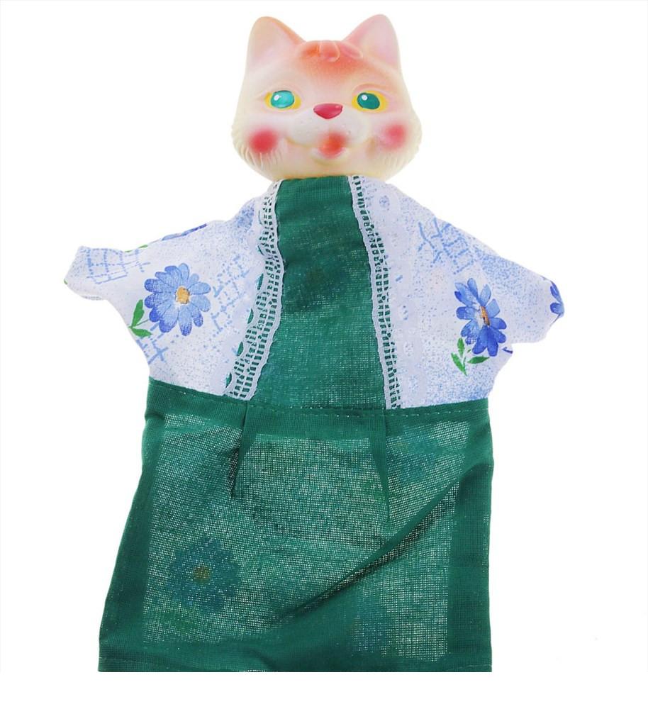 Кукла-перчатка - Кошка, 26 смДетский кукольный театр <br>Кукла-перчатка - Кошка, 26 см<br>