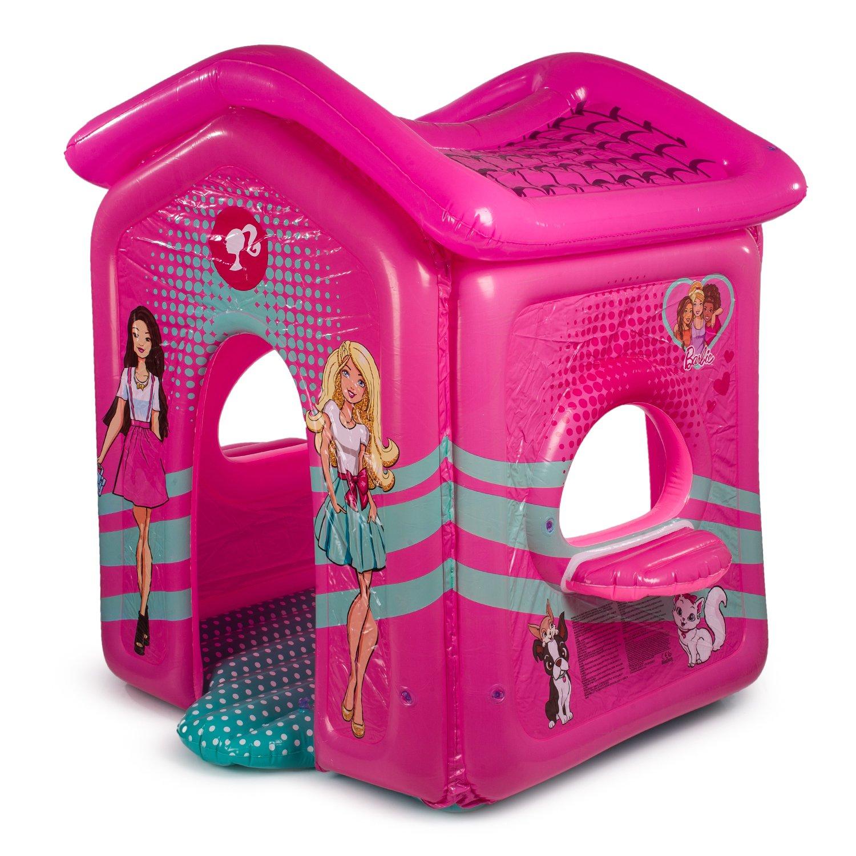 Купить Надувной домик для игр из серии Barbie, размер 150 х 135 х 142 см., Bestway