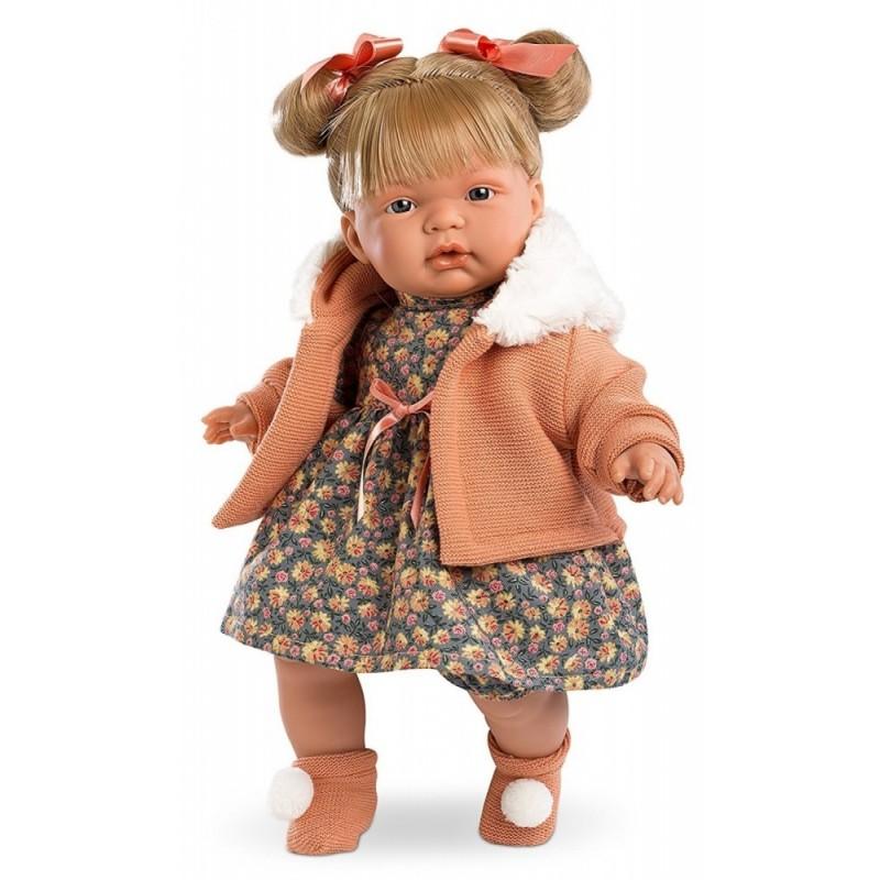 Кукла Жоэль 38 см, озвученнаяИспанские куклы Llorens Juan, S.L.<br>Кукла Жоэль 38 см, озвученная<br>