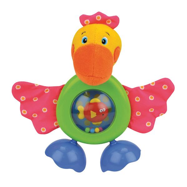 Развивающая игрушка Прогулка ПеликанаДетские погремушки и подвесные игрушки на кроватку<br>Развивающая игрушка Прогулка Пеликана<br>