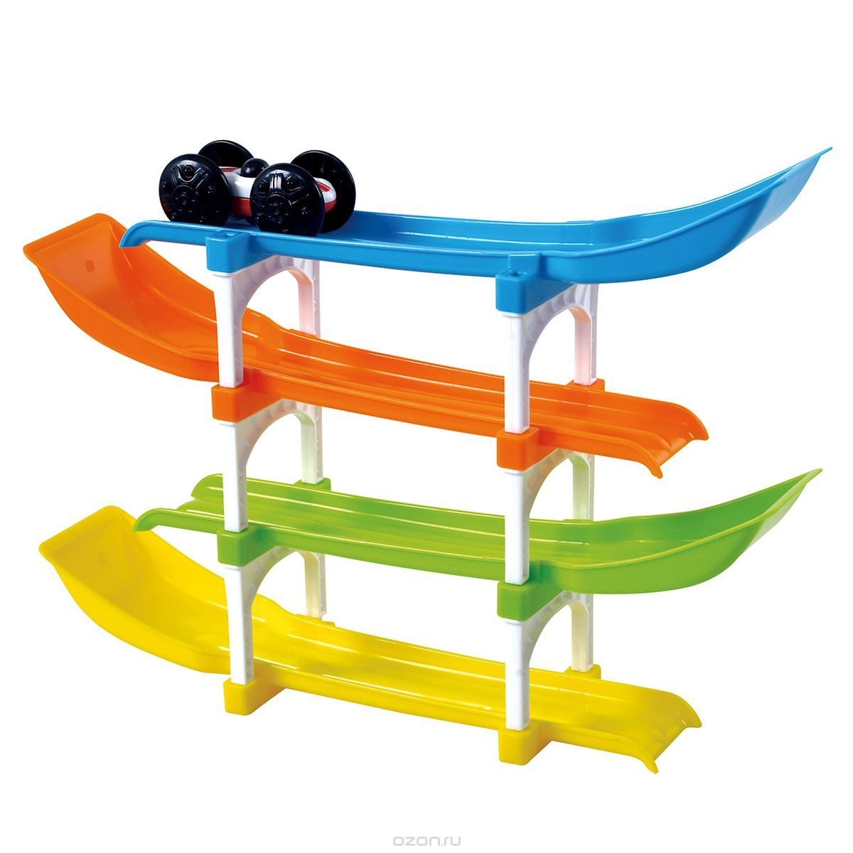 Развивающая игрушка - Трек с машинкамиРазвивающие игрушки PlayGo<br>Развивающая игрушка - Трек с машинками<br>