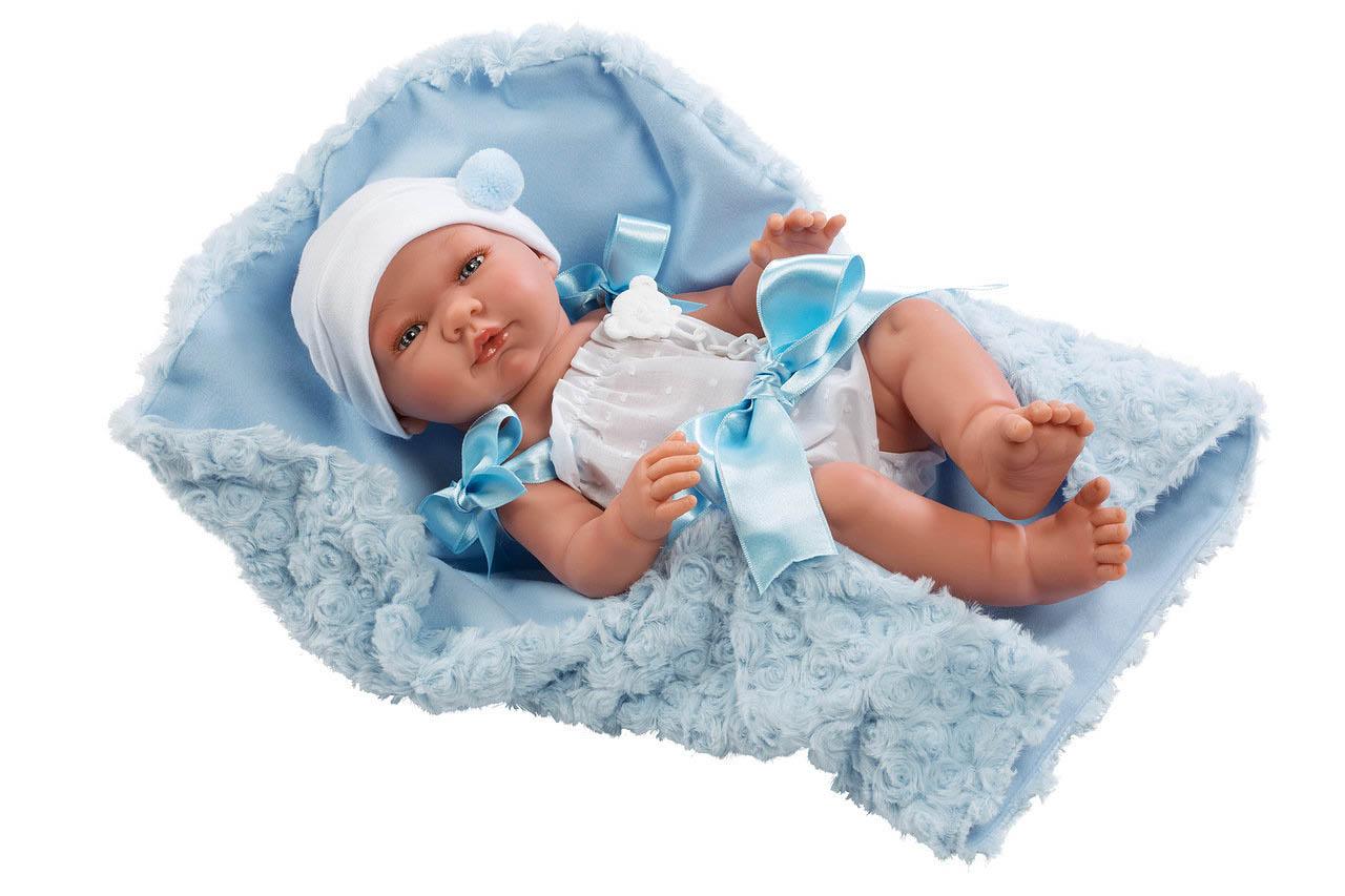 Купить Кукла – Пабло в меховом конверте, 43 см. ASI