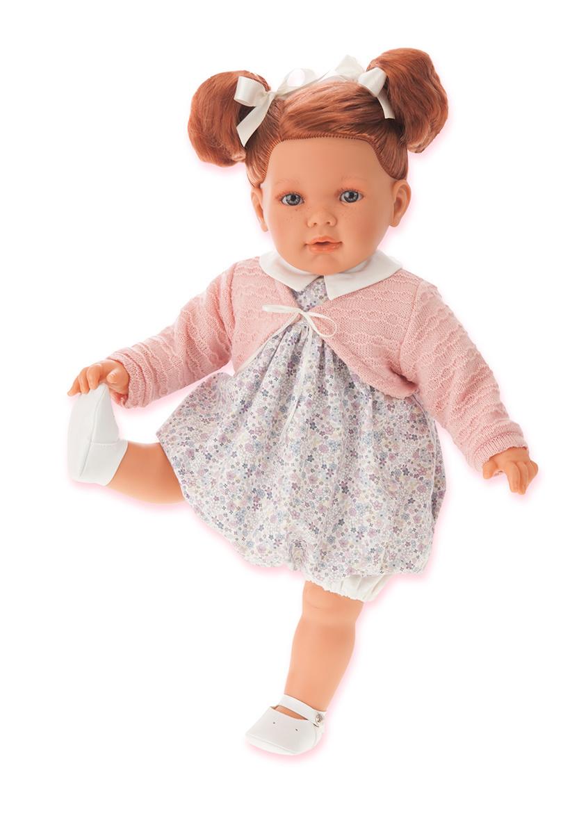 Кукла Аделина рыжая, 55 см