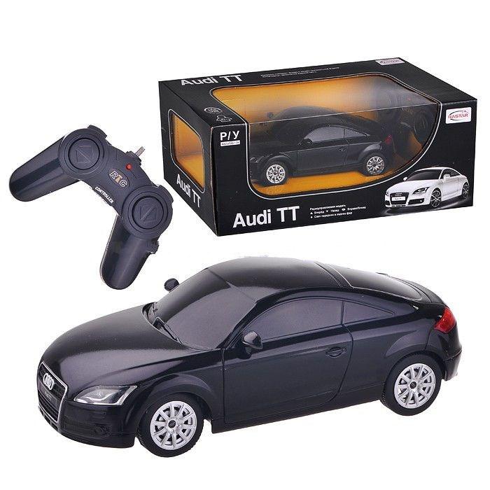 картинка Машина на р/у - Audi TT , черный, 1:24 от магазина Bebikam.ru