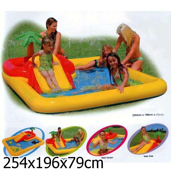 Бассейн игровой центр надувной intex 57454 аквапарк