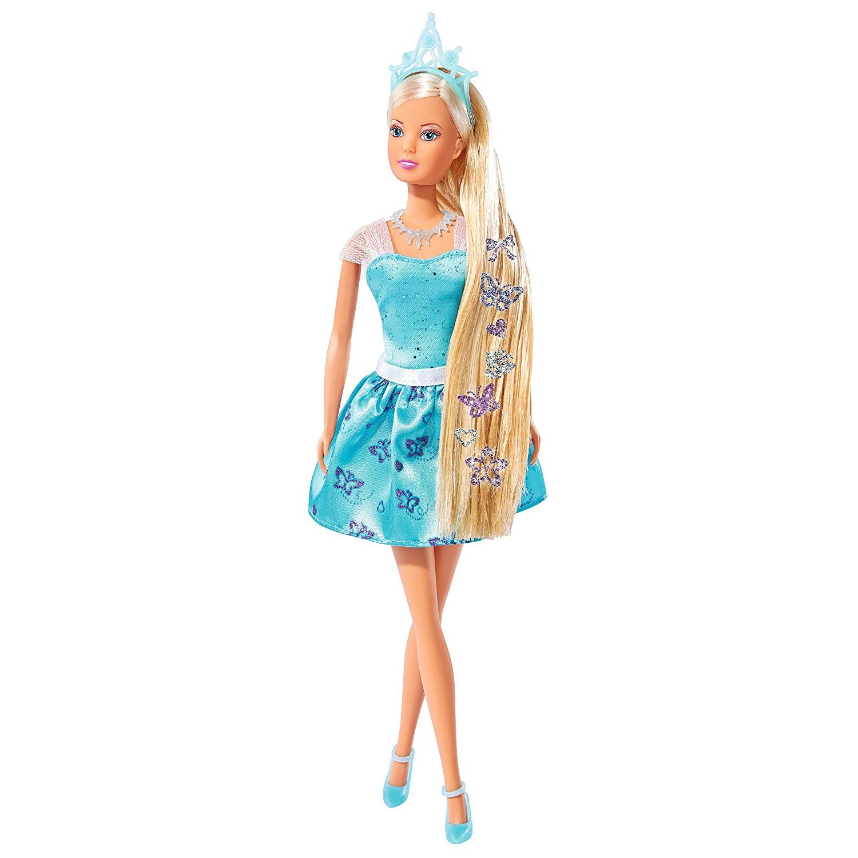 Купить Кукла Штеффи с наклейками для волос, 29 см., Simba
