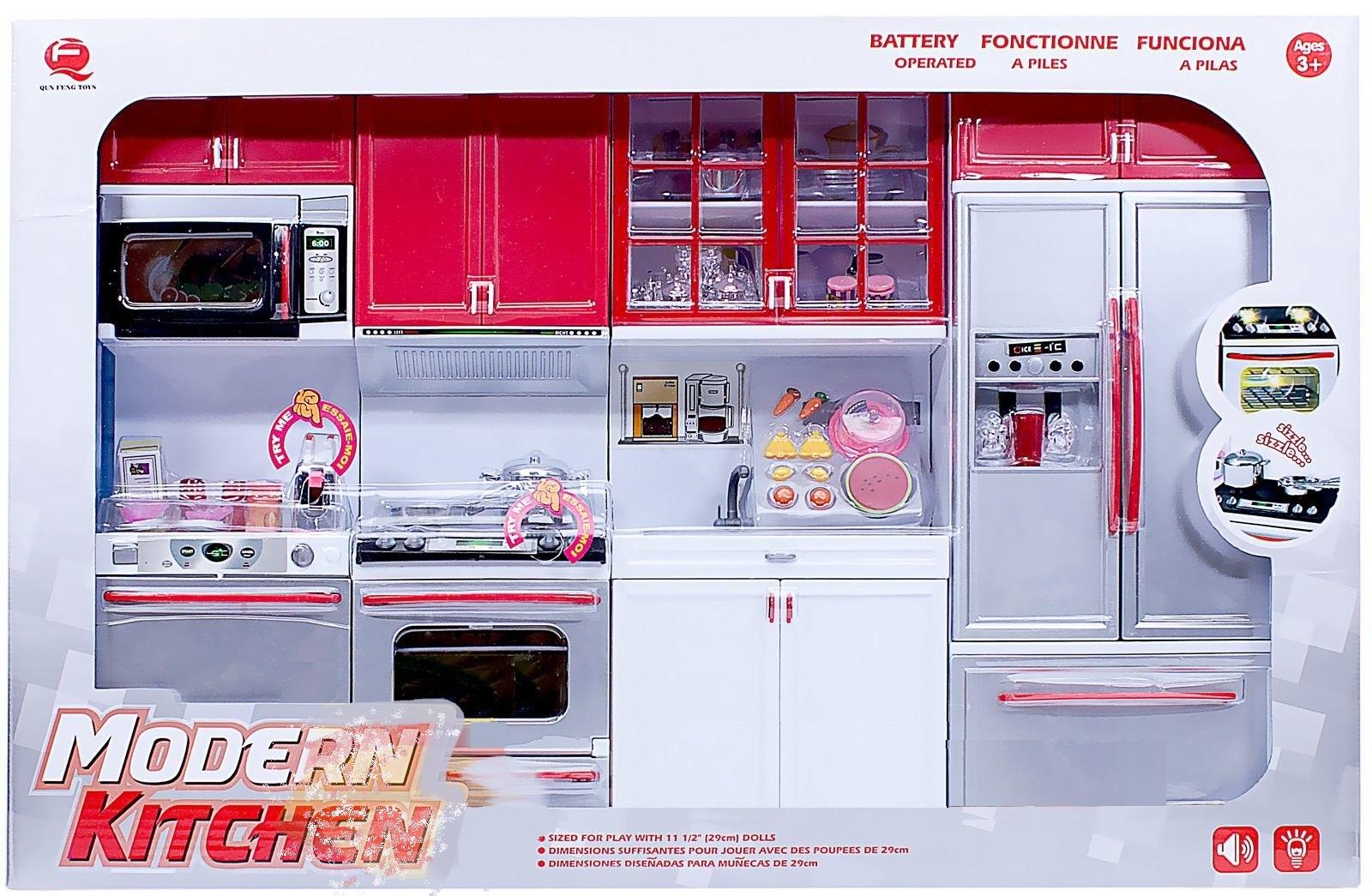 Набор - Кухня 4 в 1, звук и светДетские игровые кухни<br>Набор - Кухня 4 в 1, звук и свет<br>