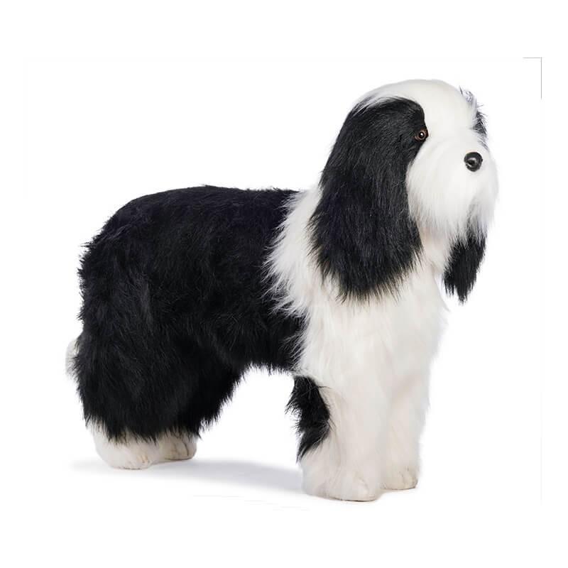 Мягкая игрушка - Овчарка стоящая, 80 смБольшие игрушки (от 50 см)<br>Мягкая игрушка - Овчарка стоящая, 80 см<br>