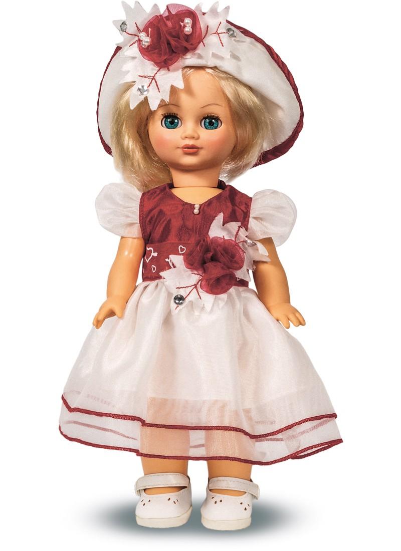 Озвученная кукла Элла 10, высотой 35 смРусские куклы фабрики Весна<br>Озвученная кукла Элла 10, высотой 35 см<br>