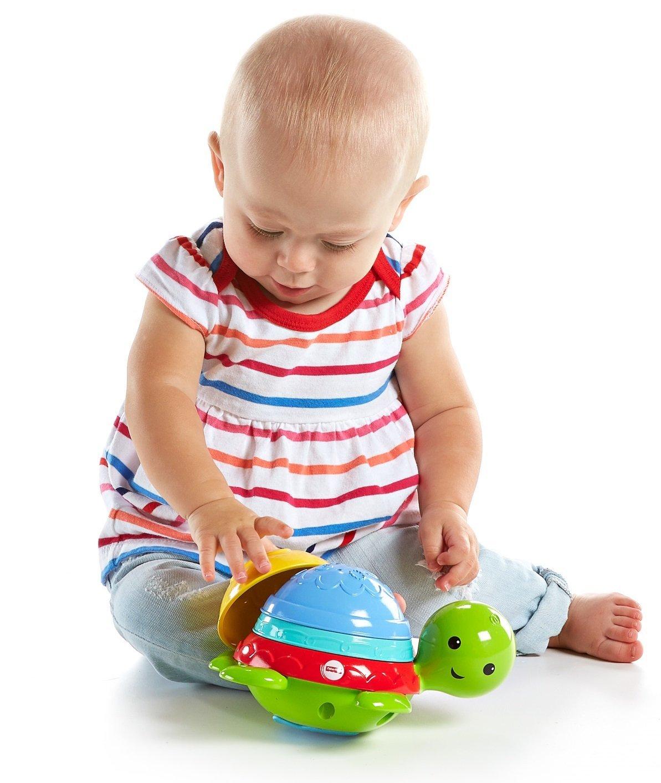 Черепашка-пирамидка для ванныРазвивающие игрушки Fisher-Price<br>Черепашка-пирамидка для ванны<br>