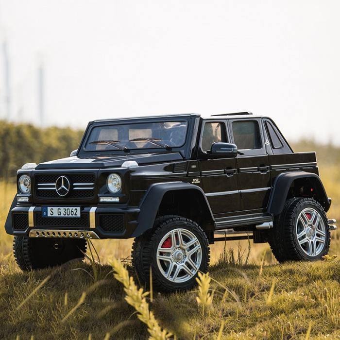 Купить Электромобиль ToyLand Mercedes-Benz Maybach G650 AMG черного цвета