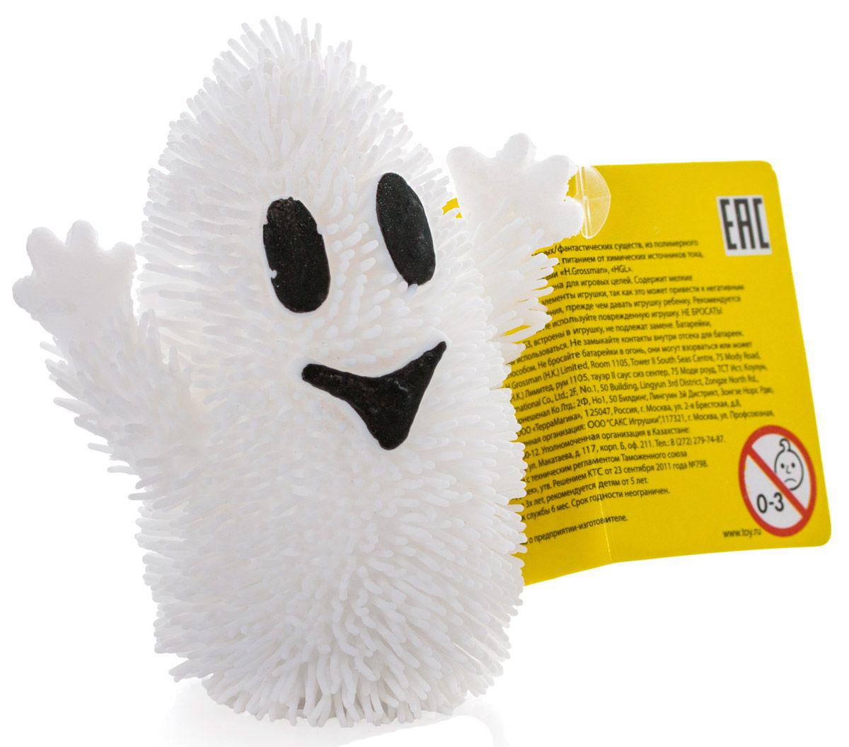 Фигурка привидения с резиновым ворсом и подсветкойПрочие интерактивные игрушки<br>Фигурка привидения с резиновым ворсом и подсветкой<br>