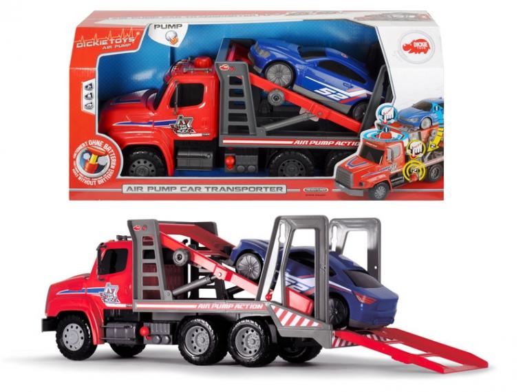 Транспортер Air Pump с машинкой, 57 см.Трейлеры<br>Транспортер Air Pump с машинкой, 57 см.<br>
