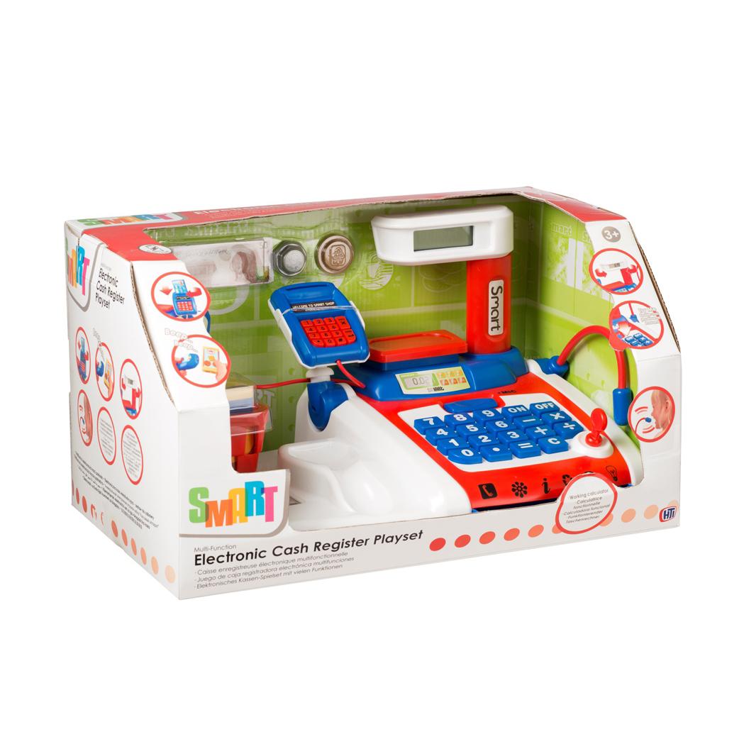 Касса электронная SmartДетская игрушка Касса. Магазин. Супермаркет<br>Касса электронная Smart<br>