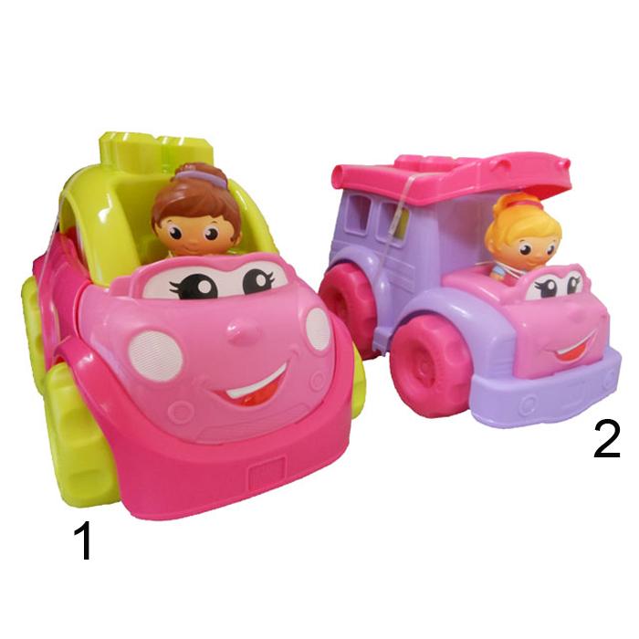 Маленькие транспортные средства для девочек, 2 вида - Машинки для малышей, артикул: 168085