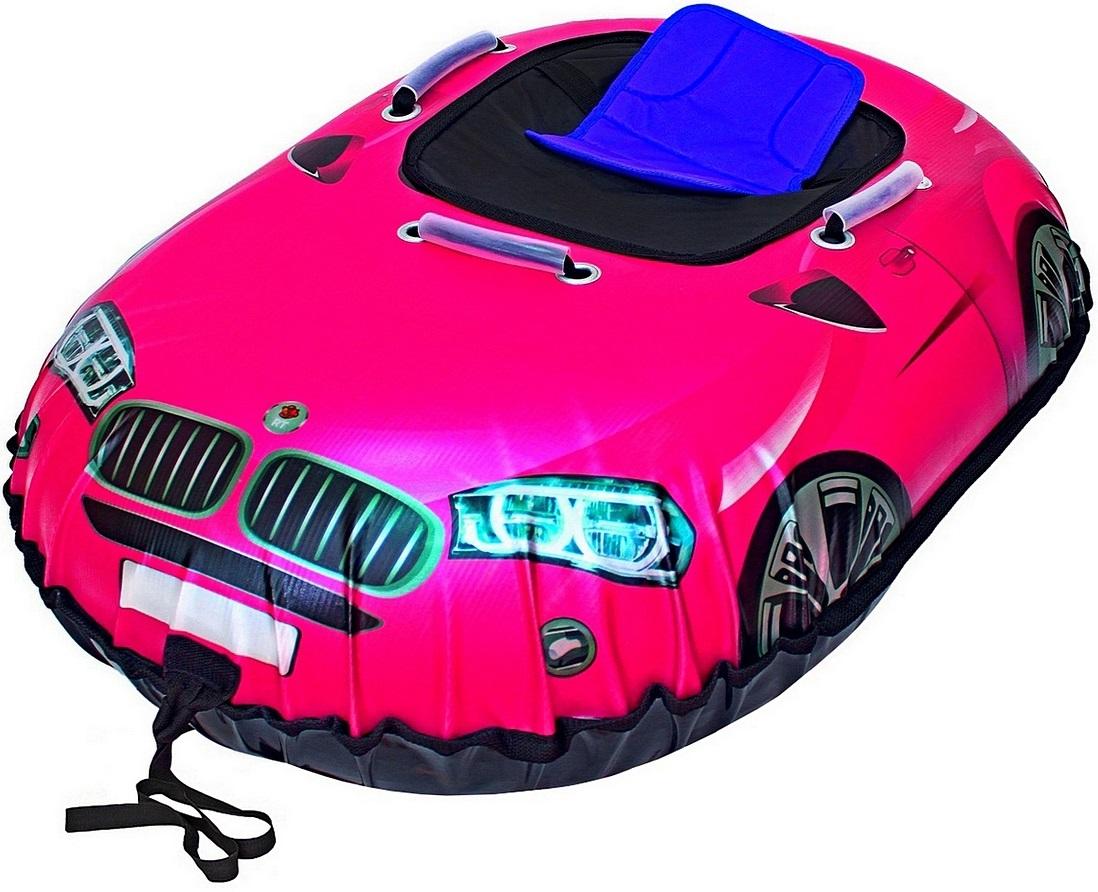 Санки надувные Тюбинг Snow auto X6, цвет розовыйВатрушки и ледянки<br>Санки надувные Тюбинг Snow auto X6, цвет розовый<br>