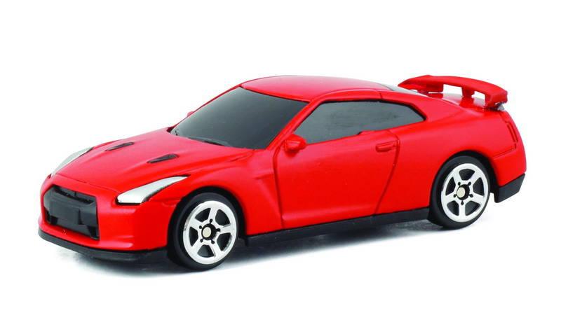 Купить Машина металлическая Nissan GTR R35, 1:64, красный матовый цвет ), RMZ City