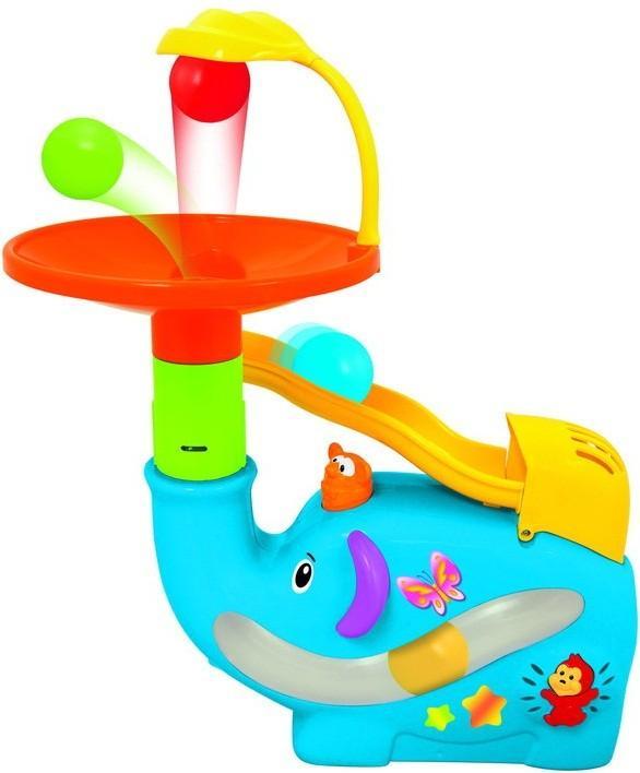 Развивающая игрушка «Забавный слон с шарами» Kiddieland, KID 049460Развивающие игрушки KIDDIELAND<br>Развивающая игрушка «Забавный слон с шарами» Kiddieland, KID 049460<br>