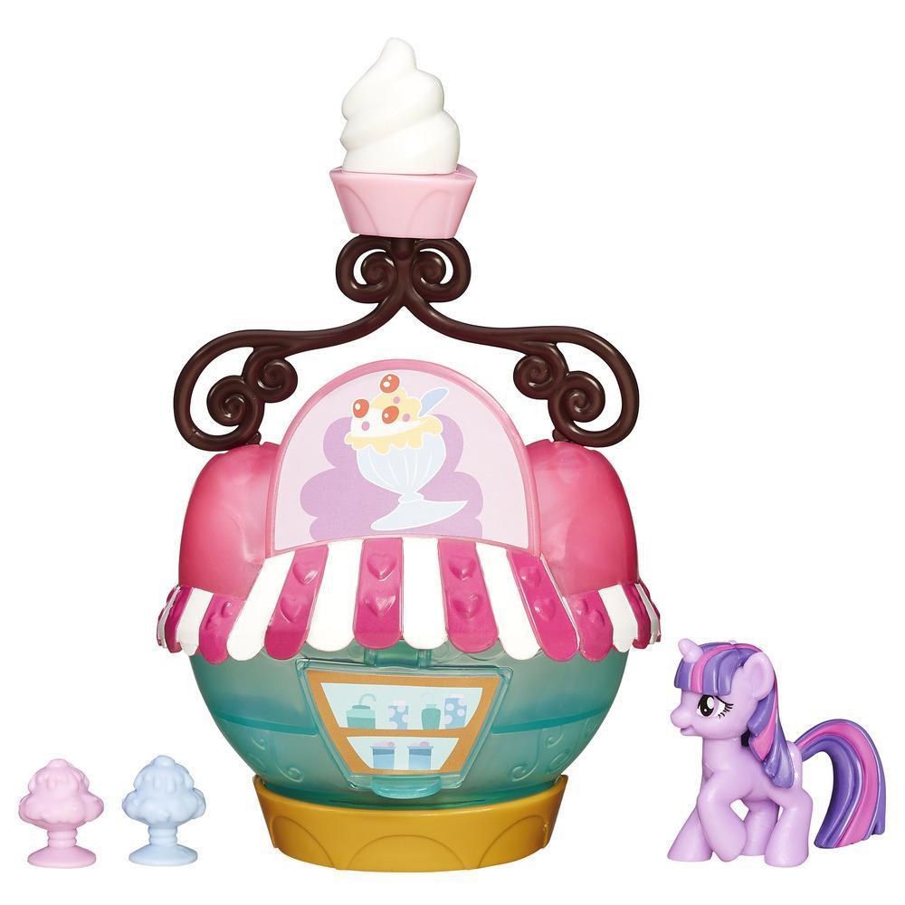 Мини-набор My Little Pony - Твайлайт Спаркл и кафе-мороженое