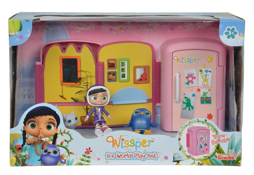 Игровой мини-набор из серии Висспер  Ледниковый мир - Висспер (Whissper), артикул: 161216