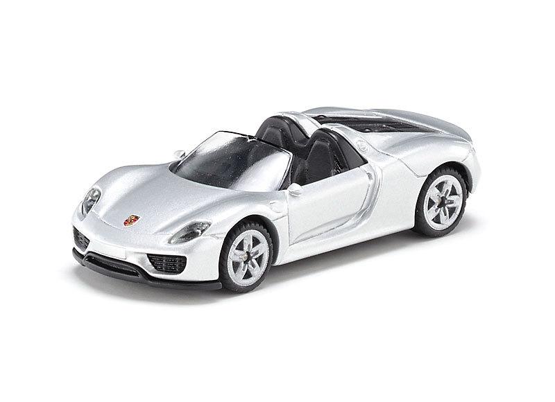 Модель автомобиля - Porsche 918 Spyder кабриолет, масштаб 1/55, Siku  - купить со скидкой