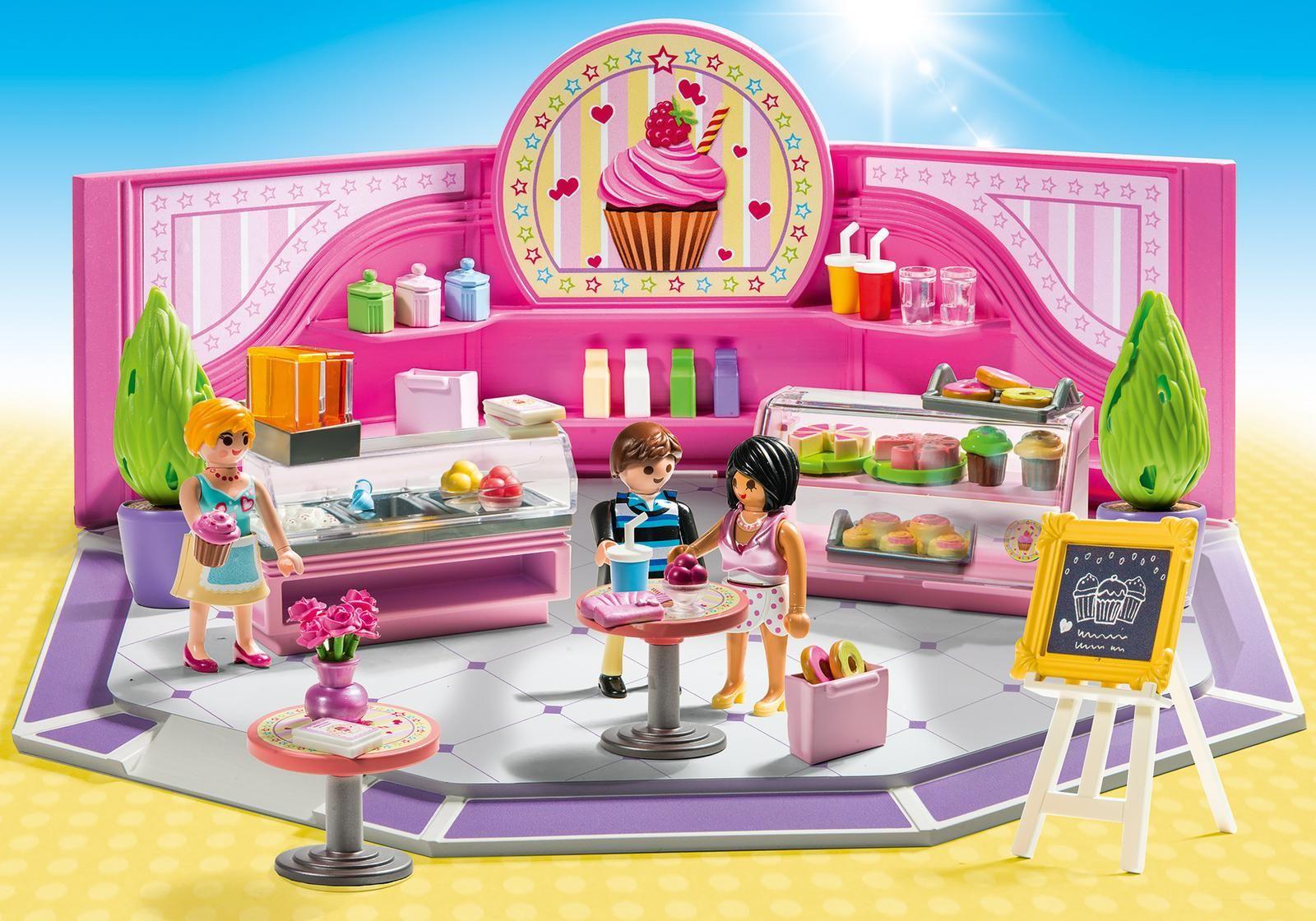 Купить Игровой набор - Шопинг: Кондитерский магазин, Playmobil