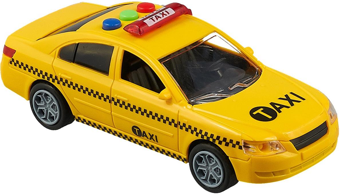 Купить Машинка - Такси, со звуковыми и световыми эффектами, JUNFA TOYS