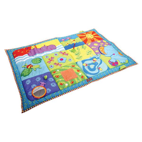 Развивающий коврик Travel - Самый большойДетские развивающие коврики для новорожденных<br>Развивающий коврик Travel - Самый большой<br>