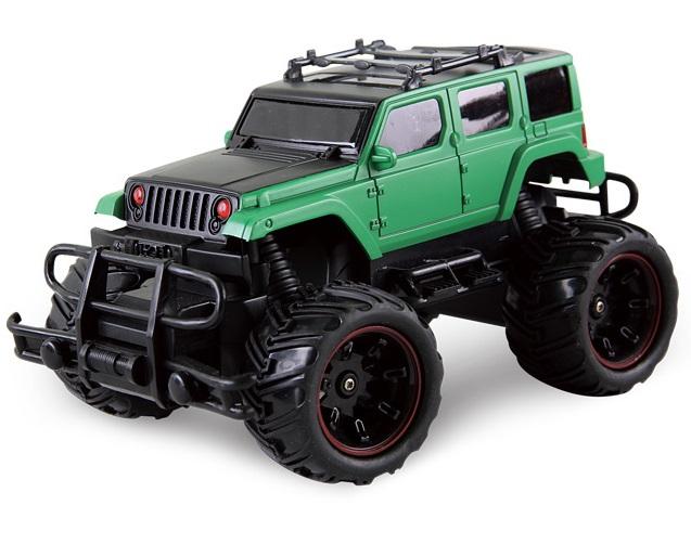 Машина на радиоуправлении - Внедорожник, 1:20, зеленый/черныйМашины на р/у<br>Машина на радиоуправлении - Внедорожник, 1:20, зеленый/черный<br>