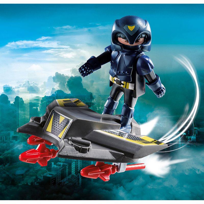 Купить Игровой набор – Экстра-набор: Небесный рыцарь с самолетом, Playmobil