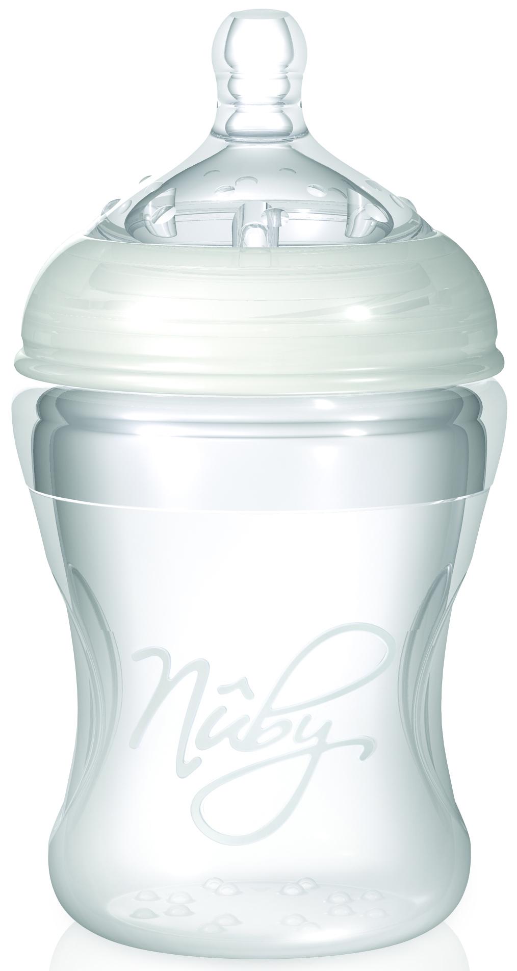 Бутылочка с антиколиковой системой, 210 млТовары для кормления<br>Бутылочка с антиколиковой системой, 210 мл<br>