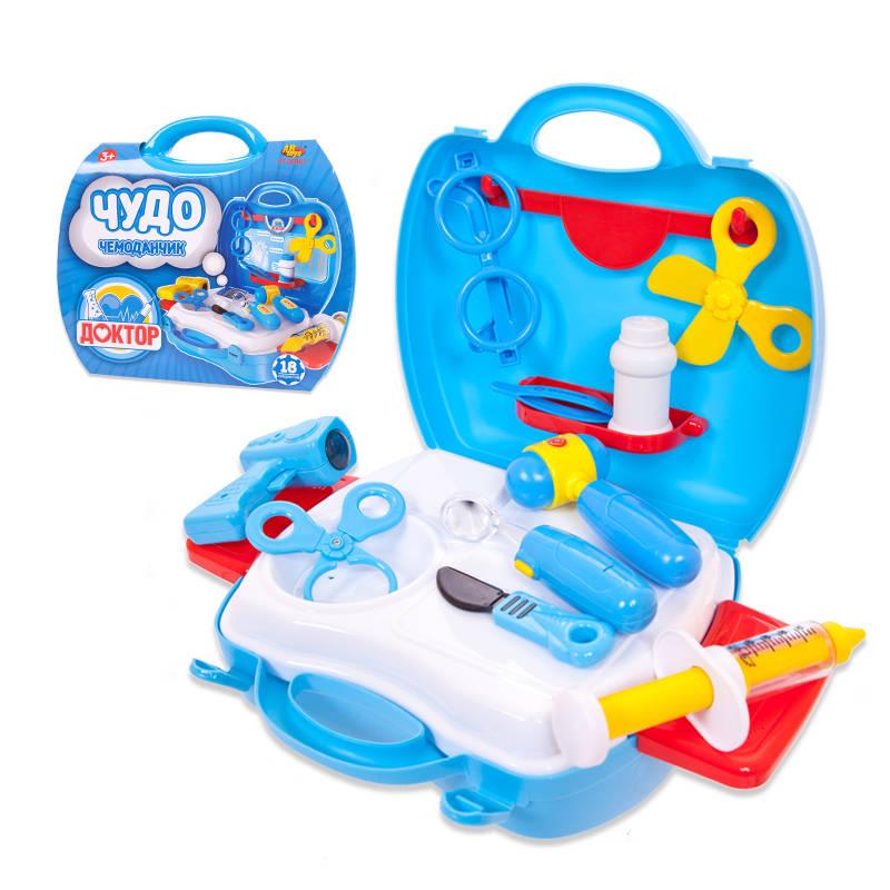 Чудо-чемоданчик  Доктор, 18 предметов - Наборы доктора детские, артикул: 158292