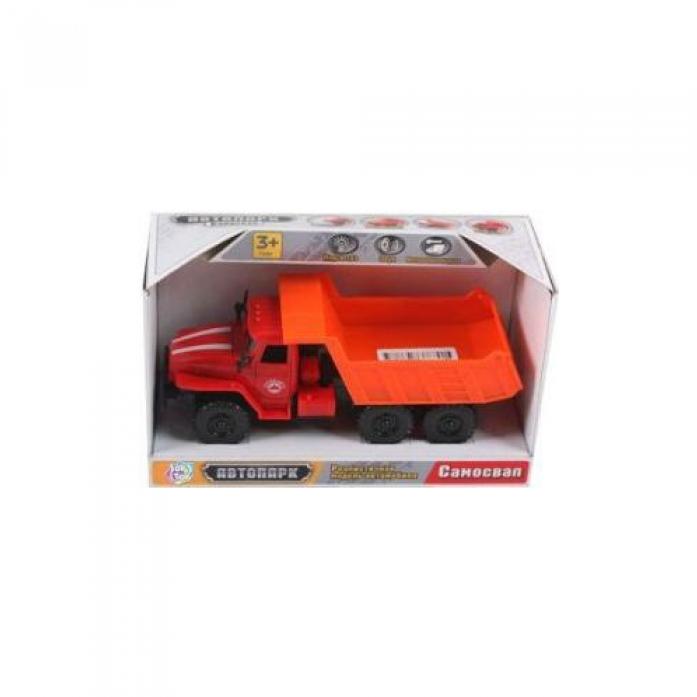 Купить Инерционная машина Автопарк со светом и звуком, открывается дверь, 19, 5 х 11 х 8 см., Play Smart