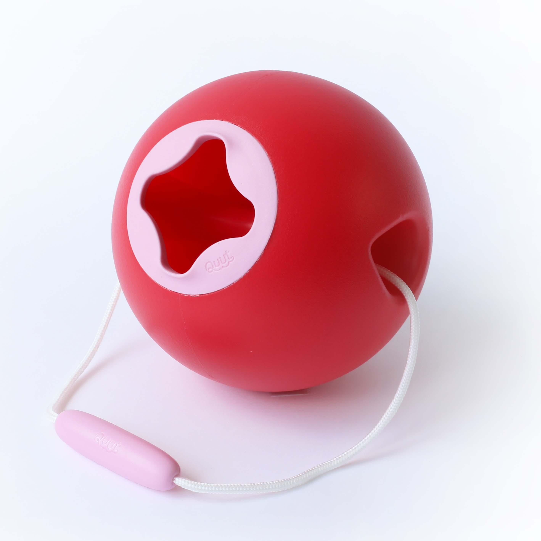 Купить Ведерко для воды Ballo, 1 л, цвет: вишневый красный + сладкий розовый, Quut