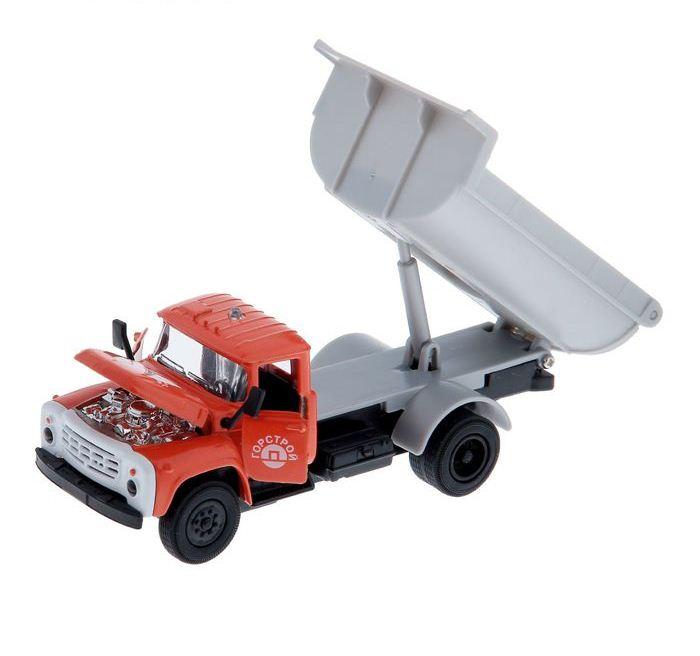 Машина металлическая инерционная ЗИЛ 130, со светом и звукомГрузовики/самосвалы<br>Машина металлическая инерционная ЗИЛ 130, со светом и звуком<br>