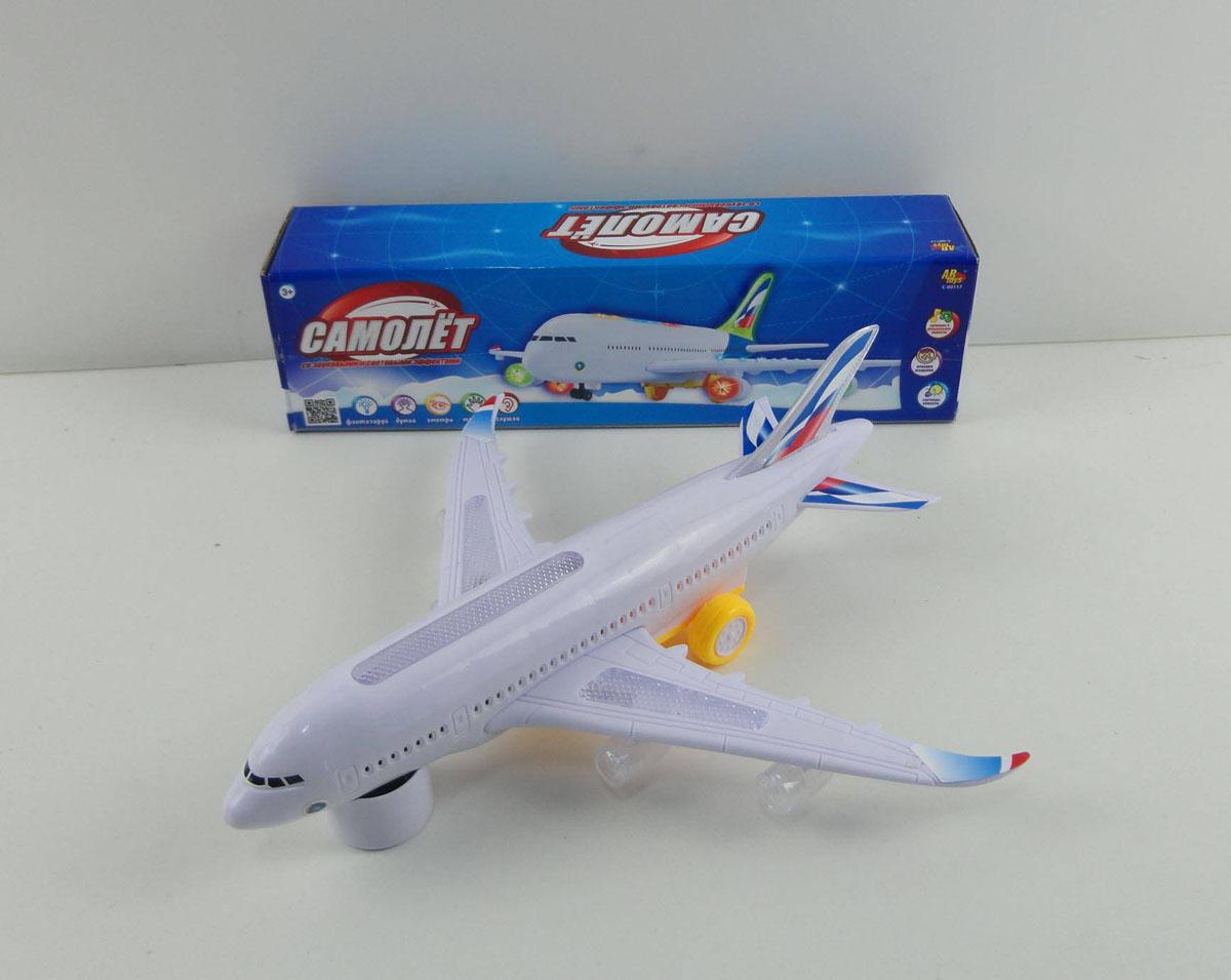 Самолётик со светом и звукомСамолеты, службы спасения<br>Самолётик со светом и звуком<br>