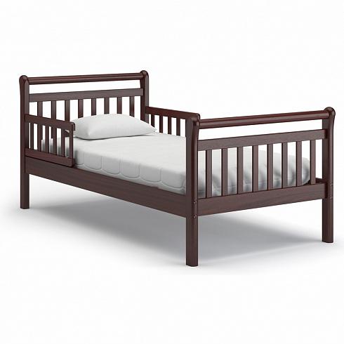Подростковая кровать Nuovita Delizia, Mogano / МахагонДетские кровати и мягкая мебель<br>Подростковая кровать Nuovita Delizia, Mogano / Махагон<br>