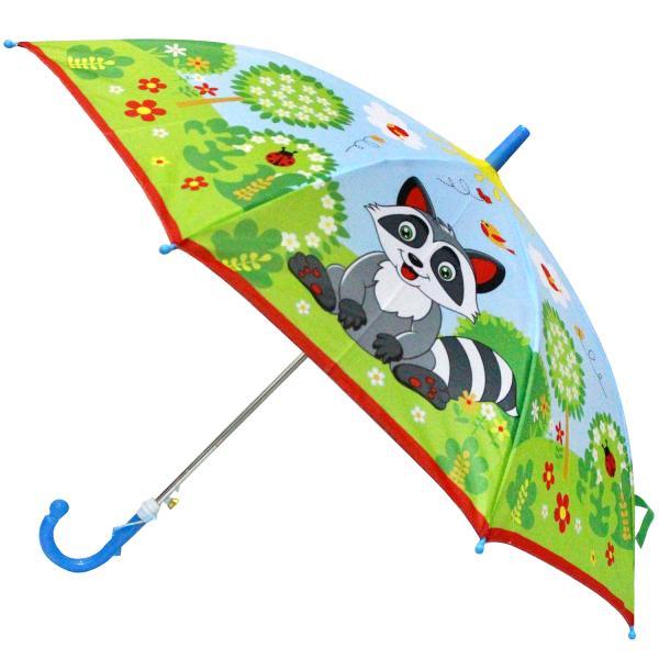 Детский зонт со свистком – Еноты, диаметр 45 смДетские зонты<br>Детский зонт со свистком – Еноты, диаметр 45 см<br>
