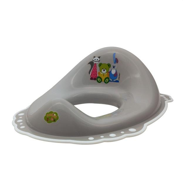 Накладка c антискользящим покрытием Mishkaгоршки и сиденья для унитаза<br>Накладка c антискользящим покрытием Mishka<br>