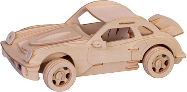 Модель деревянная сборная - ПоршеМодели автомобилей для склеивания<br>Модель деревянная сборная - Порше<br>