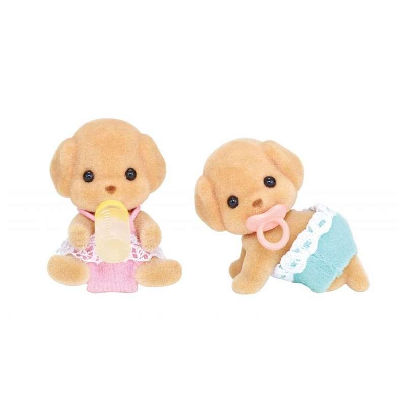 Купить Sylvanian Families - Той Пудели-двойняшки, 4, 5 см, Epoch