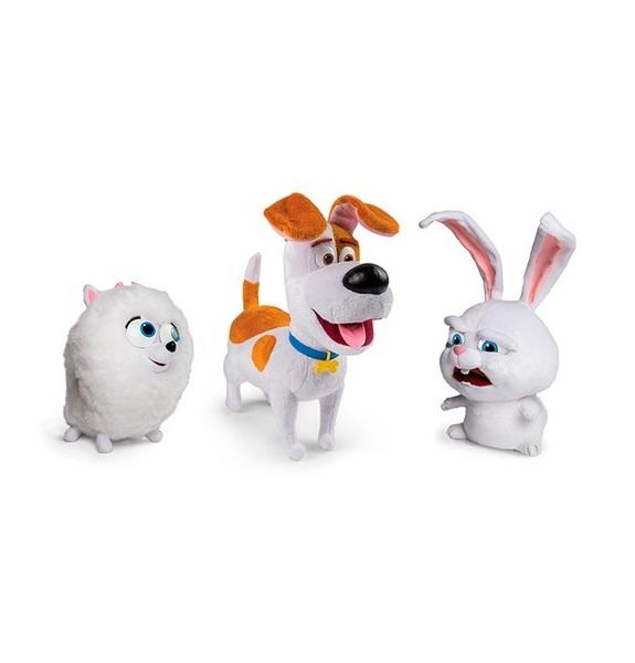 Плюшевая игрушка из серии Тайная жизнь домашних животных, со звуковыми эффектами, 3 вида от Toyway