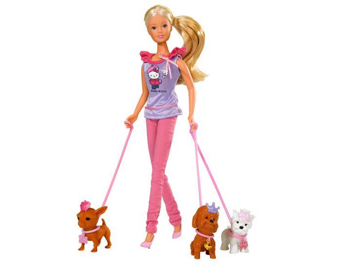 Игровой набор – Штеффи с собачкой и аксессуарамиКуклы Steffi (Штеффи)<br>Игровой набор – Штеффи с собачкой и аксессуарами<br>
