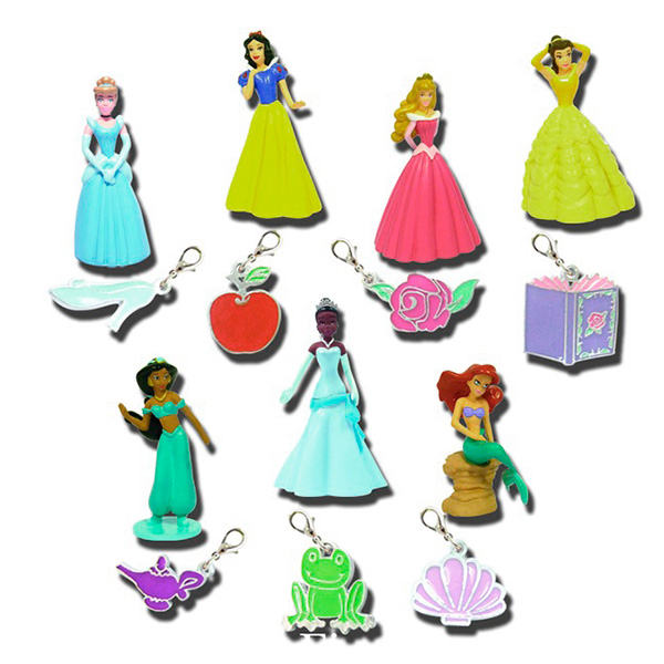 Фигурка и брелок Принцесса DisneyРостометры, брелоки и др. игрушки<br>Фигурка и брелок Принцесса Disney<br>
