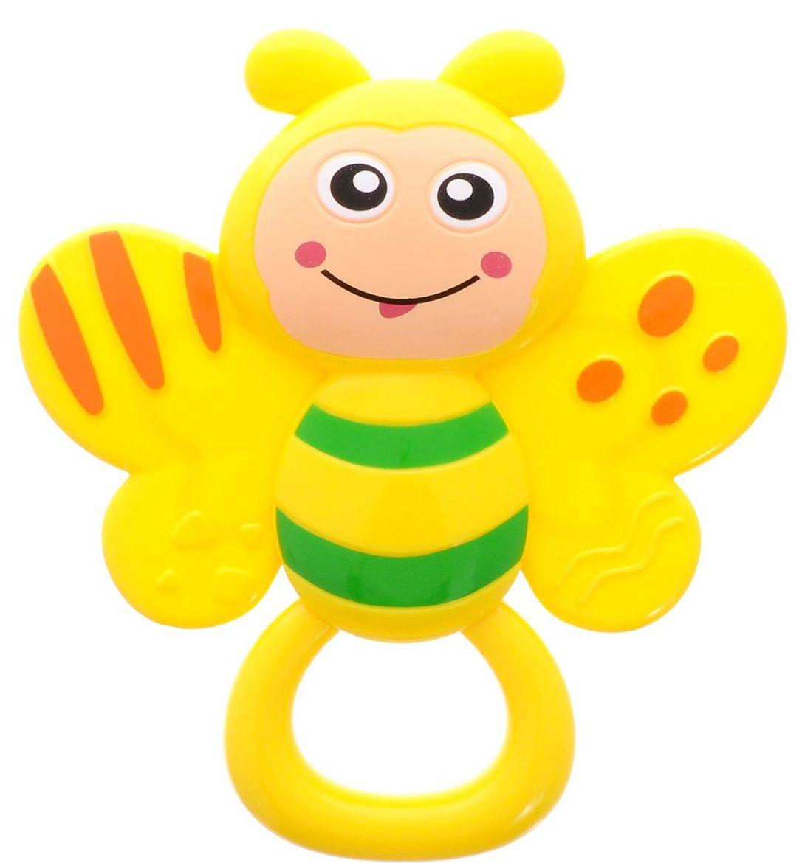 Погремушка - прорезыватель - ПчелкаДетские погремушки и подвесные игрушки на кроватку<br>Погремушка - прорезыватель - Пчелка<br>