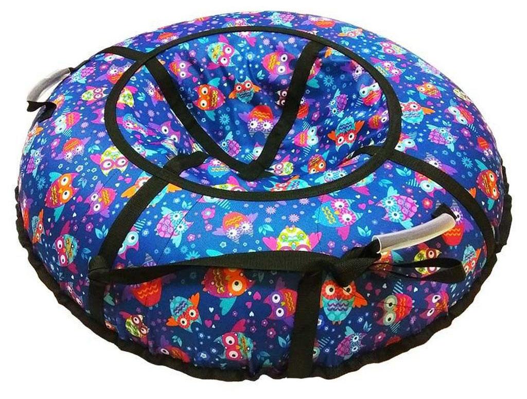 Купить Санки надувные тюбинг RT Совы с птичками, диаметр 118 см., Snow Show