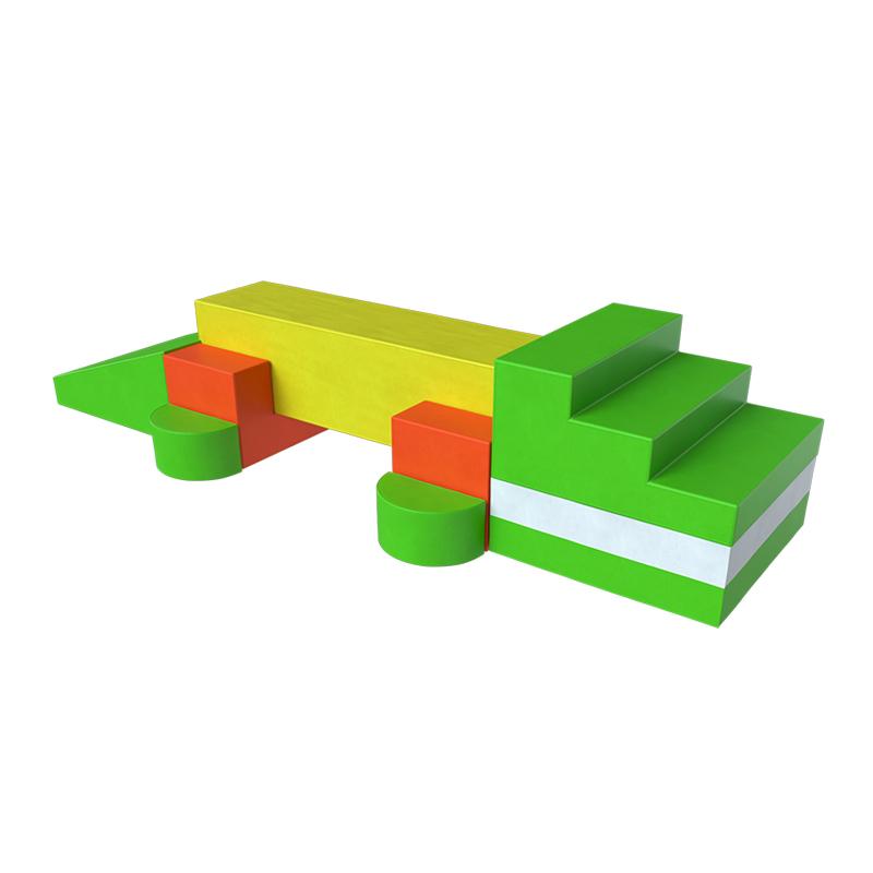 Мягкий игровой комплекс - Крокодил фото